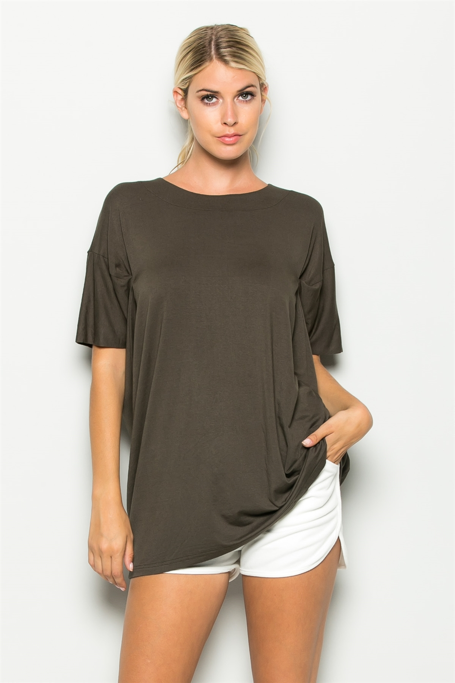 SEE THROUGH BACK TUNIC - orangeshine.com