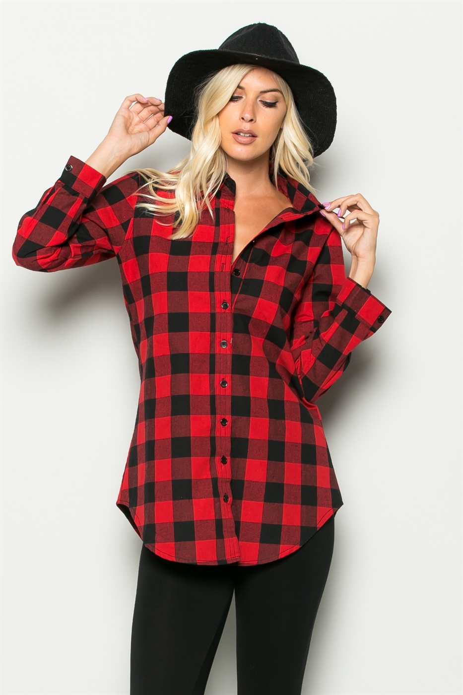 A shappe wholesale plaid button down shirts for Where to buy cheap plaid shirts