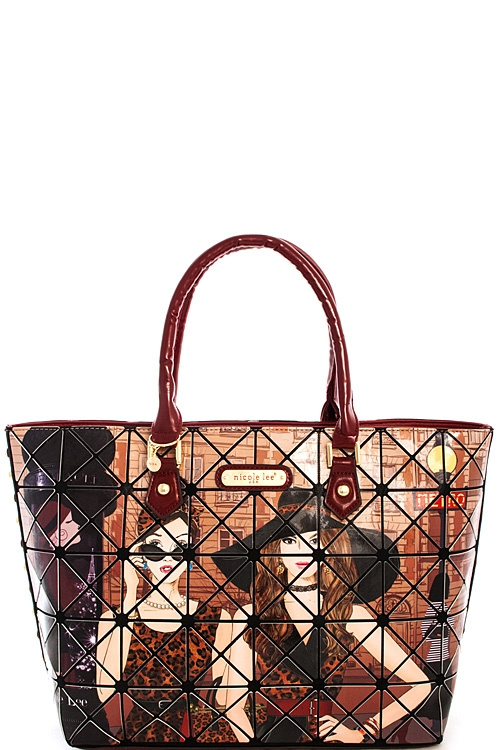 Nicole Lee London Tote - orangeshine.com