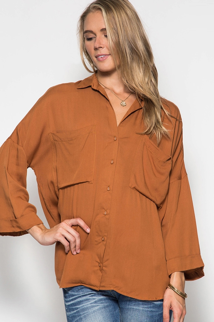TOP WITH FRONT POCKETS - orangeshine.com