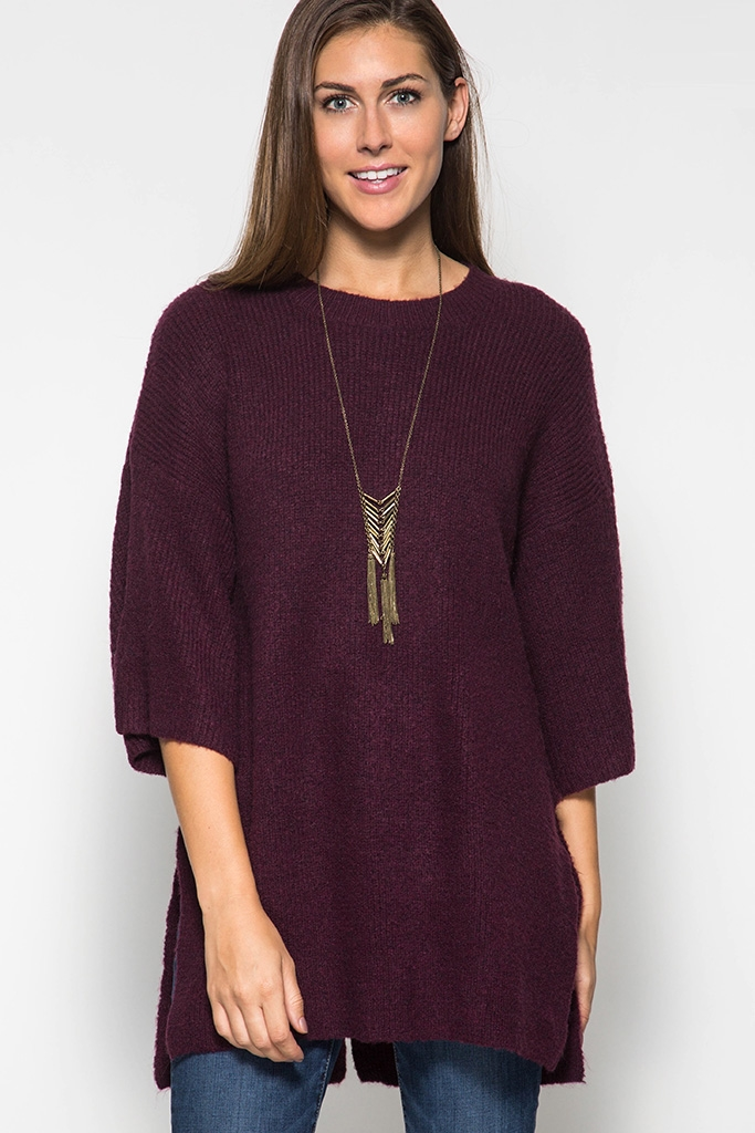 SWEATER TUNIC TOP - orangeshine.com