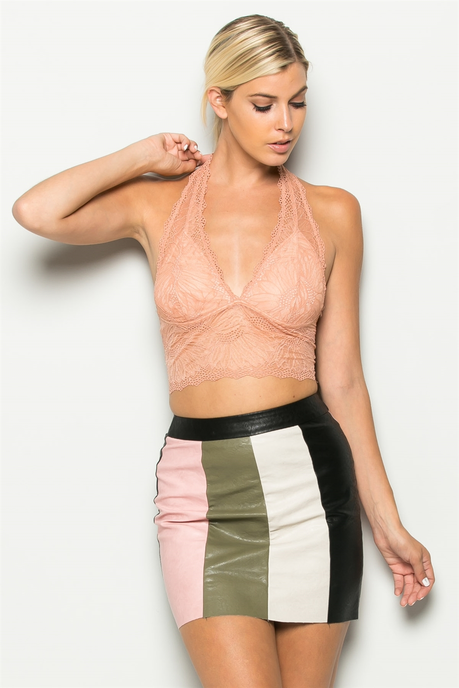 DEEP PLUNGE CROP TOP - orangeshine.com