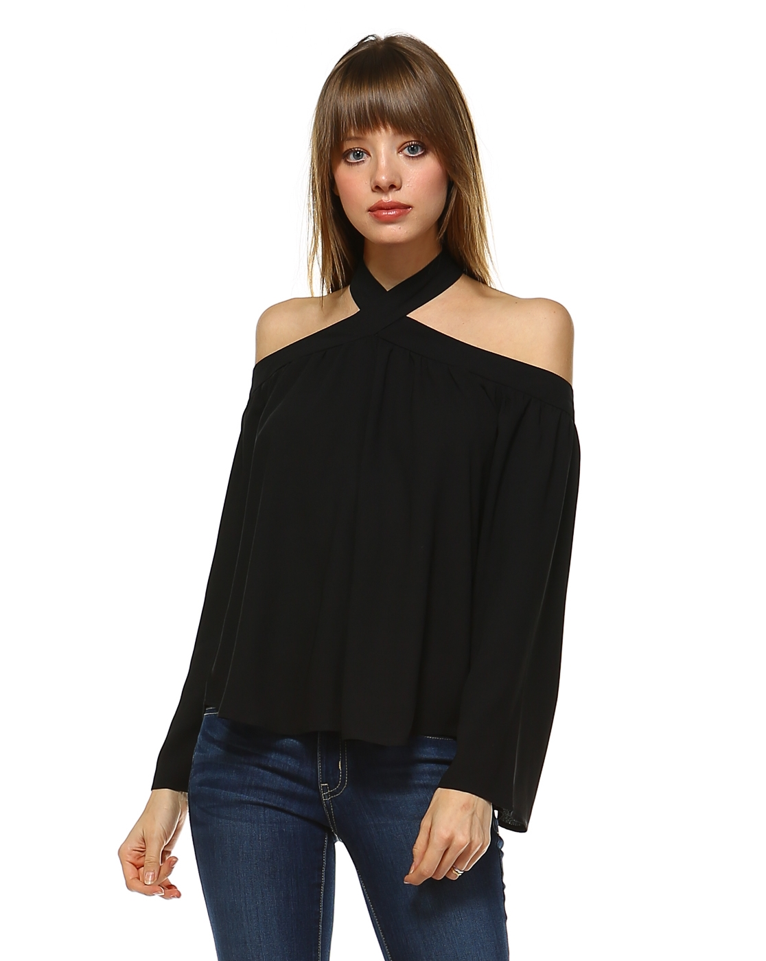 HALTER OFF SHOULDER - orangeshine.com