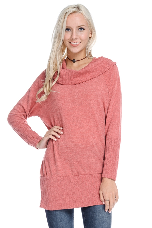 SWEATER COWL NECK - orangeshine.com