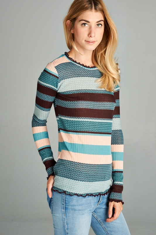 STRIPE TOP - orangeshine.com