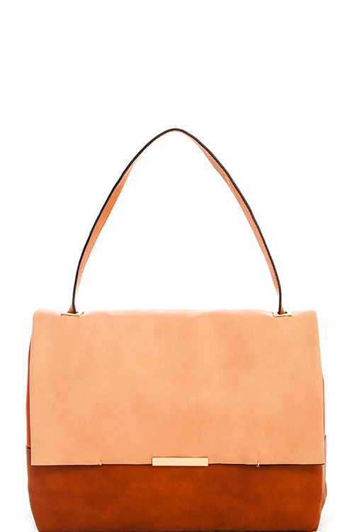 Designer Color Chic Satchel - orangeshine.com