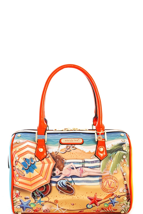Nicole Lee Vacation Hawaii Bag - orangeshine.com