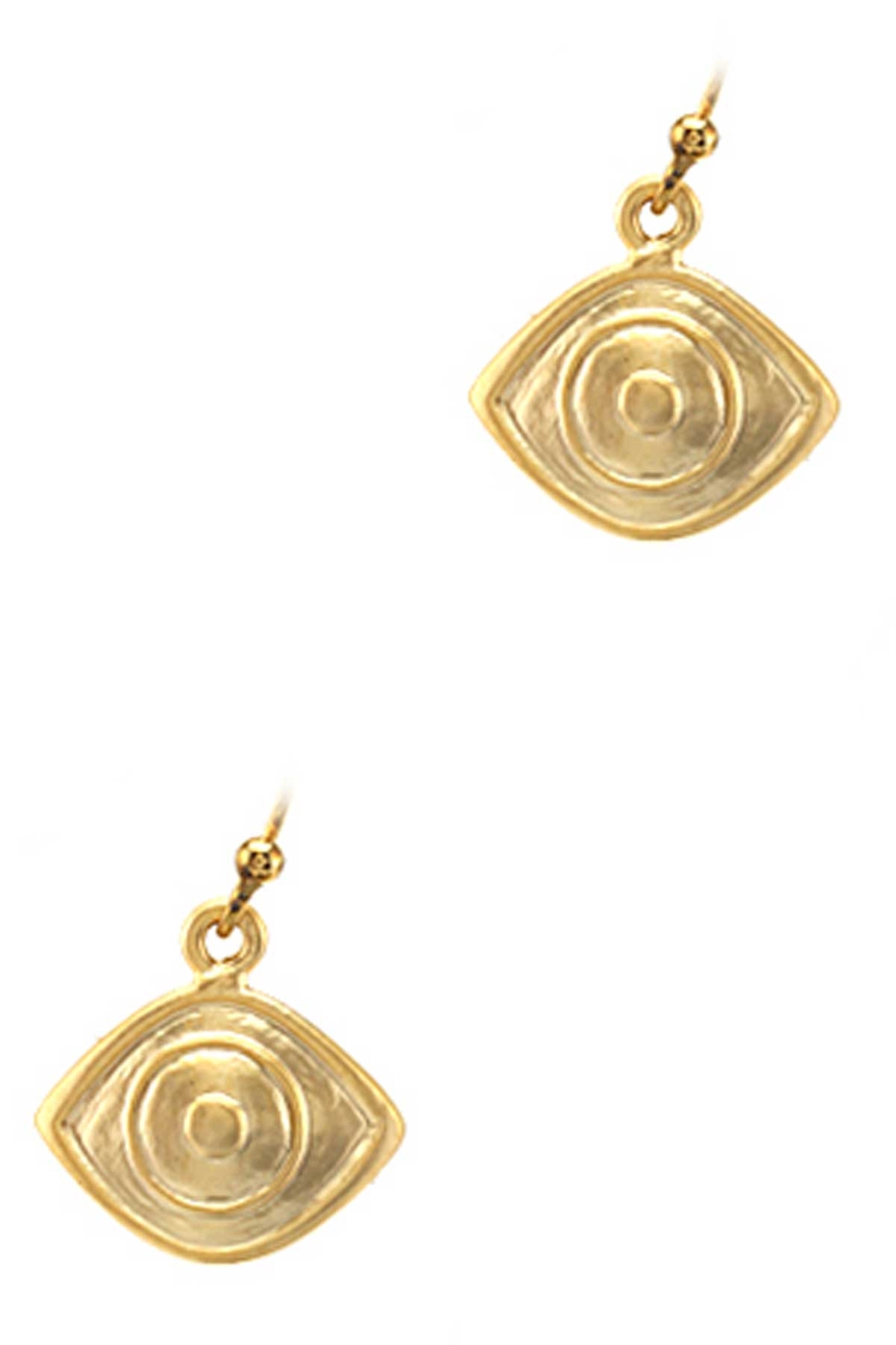 CUTE SIMPLE EVIL EYE EARRING - orangeshine.com