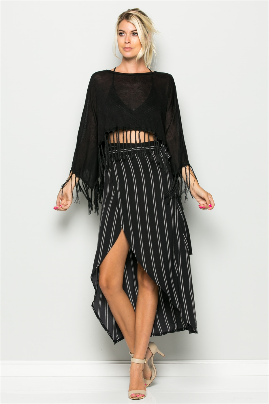 MINI FRINGE PULL OVER - orangeshine.com