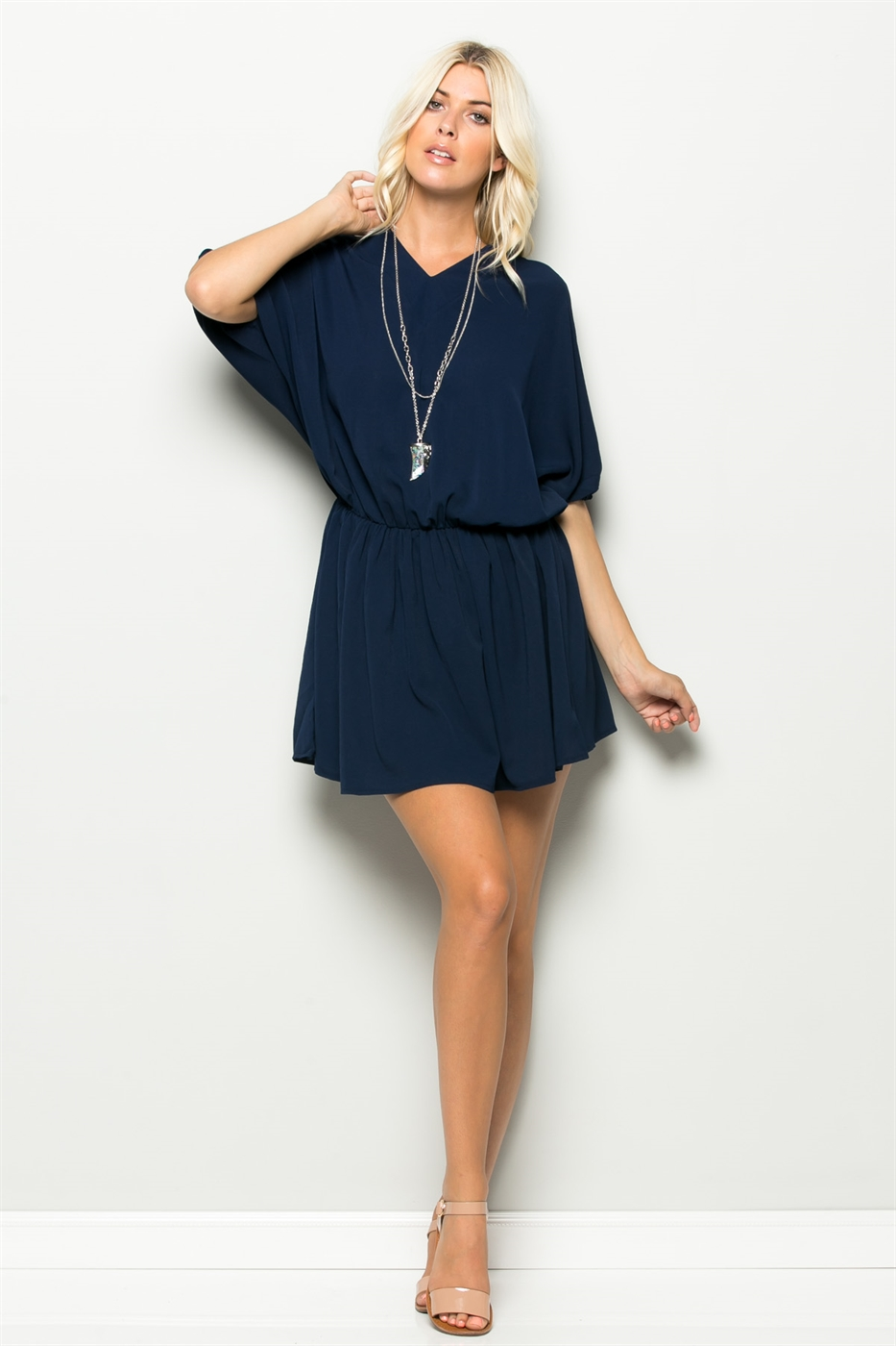 V-NECK TUNIC - orangeshine.com