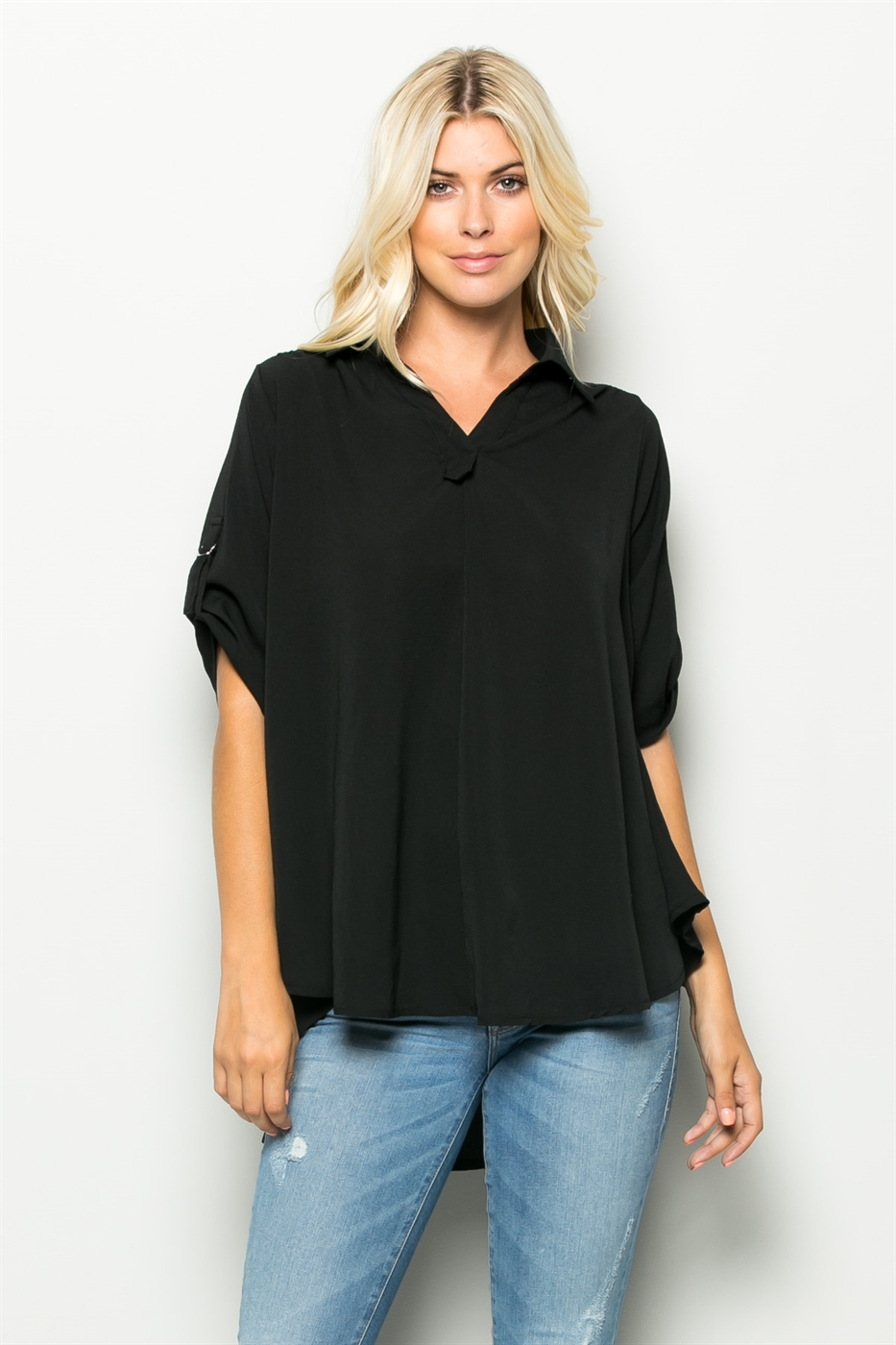 ROLL UP SLEEVE SHIRT - orangeshine.com