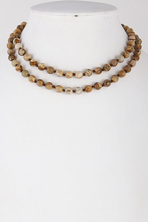 Beaded Day to Day Necklace - orangeshine.com