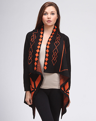 ZAQUARD SWEATER JACKET - orangeshine.com
