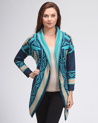 South Western Cardigan - orangeshine.com