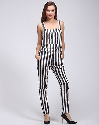 STRIPED ROMPER - orangeshine.com