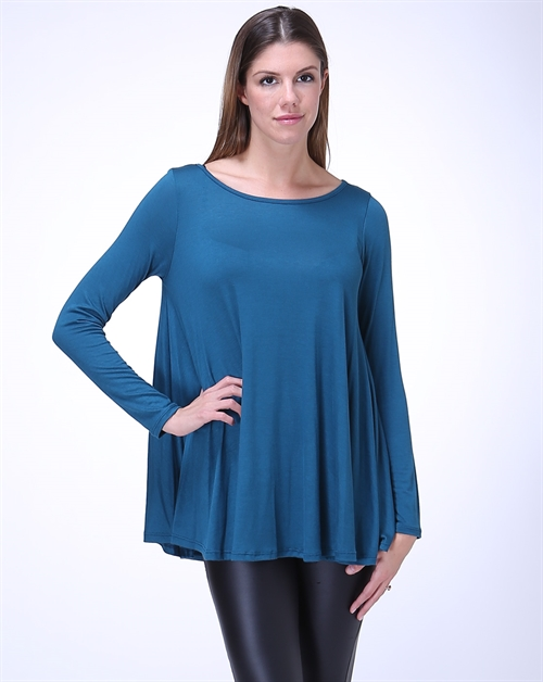Long Sleeve Oversize Top - orangeshine.com