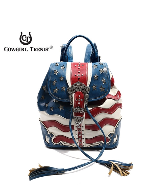 American Flag Backpack - orangeshine.com