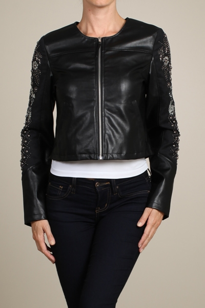 LEATHER JACKET - orangeshine.com