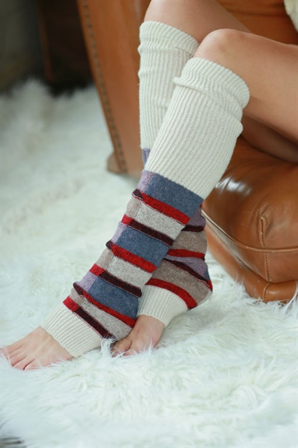 PATCHWORK LEG WARMERS - orangeshine.com