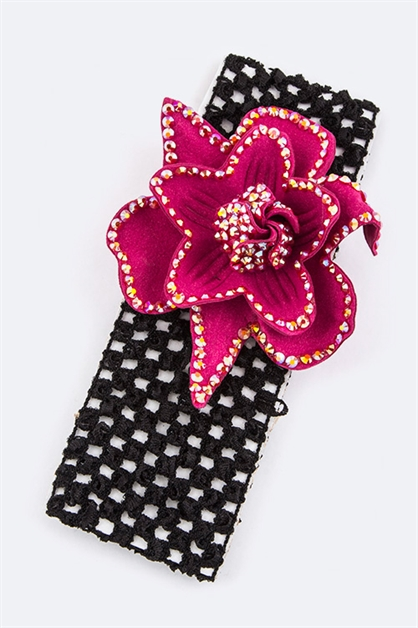Flower Kids Strertch Headband - orangeshine.com