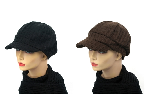Knit Fashion Cap - orangeshine.com