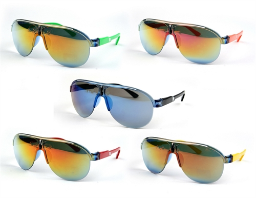 Sporty Colorful Aviators - orangeshine.com