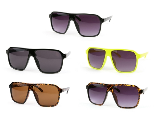 Retro Square Aviators - orangeshine.com