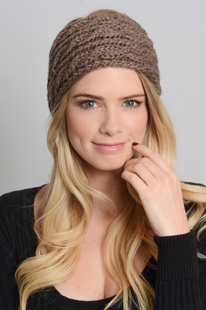 Knit Winter Headband - orangeshine.com