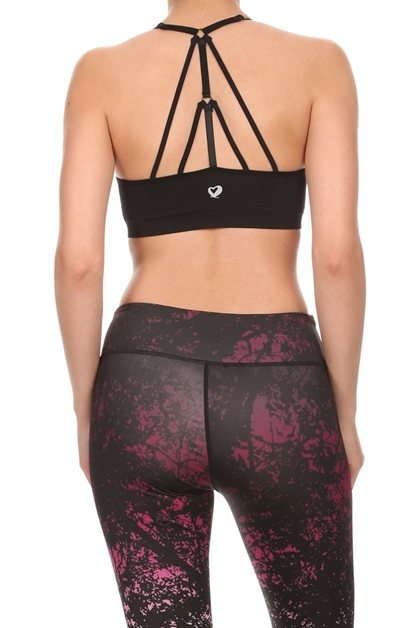 Sports bras Strappy Racer Back - orangeshine.com