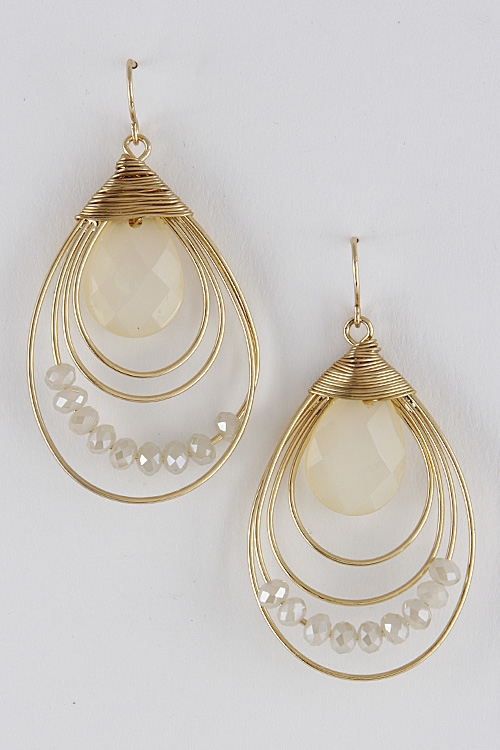 Antique Style Earrings  - orangeshine.com