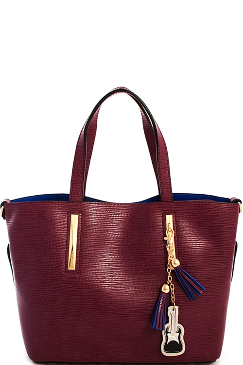 Fashion Tassel Charm Satchel - orangeshine.com