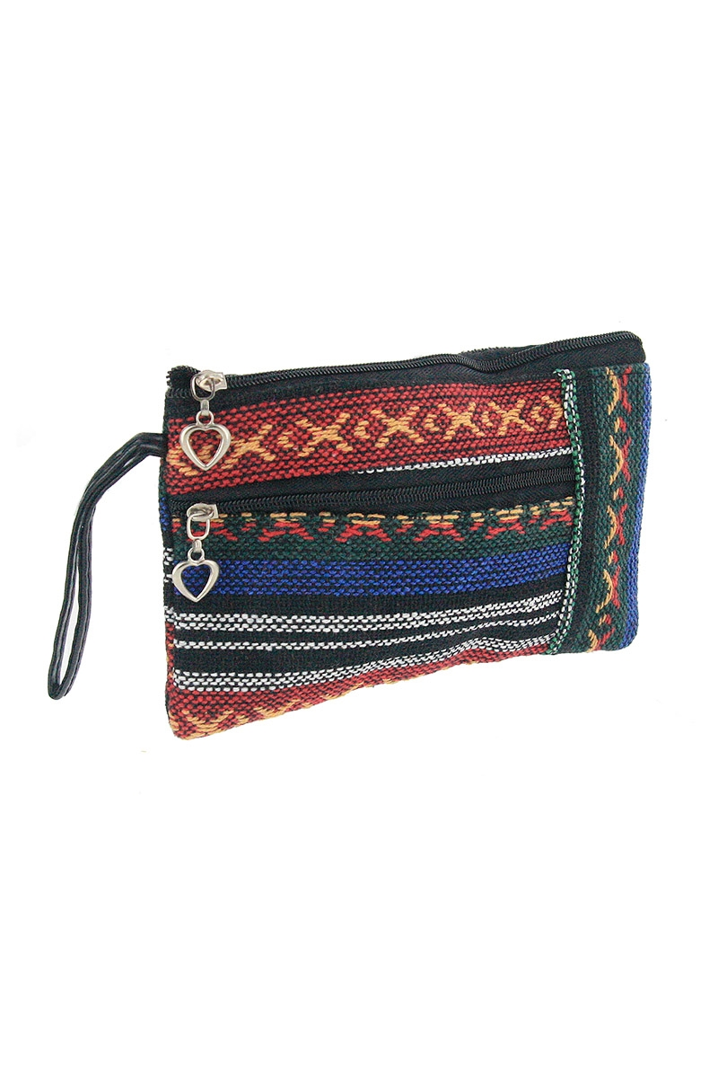 Tribal Print Coin Purse - orangeshine.com