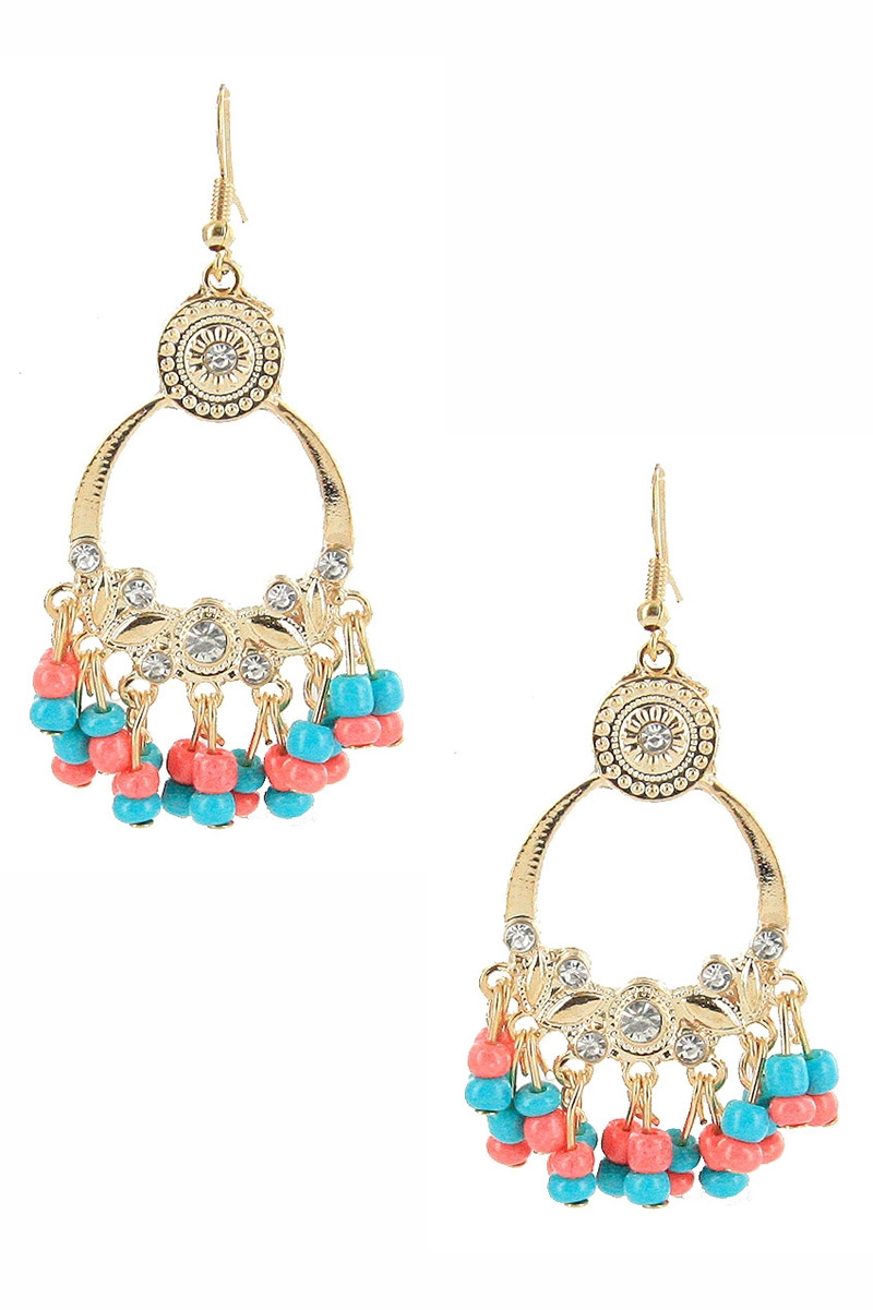 Bohemian Dangle Earring - orangeshine.com