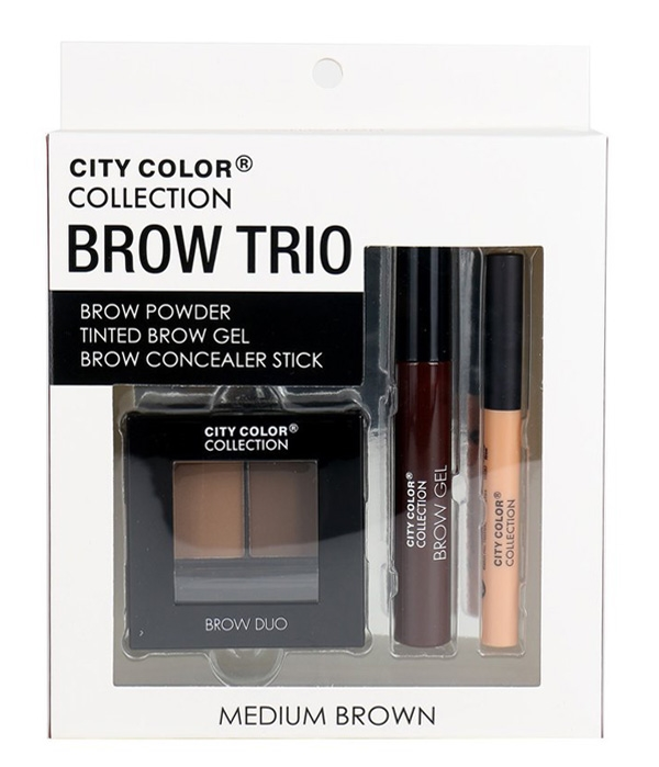 City Color Brow Trio Set - orangeshine.com