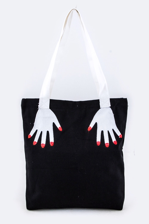 Hands Handle Tote Bag - orangeshine.com