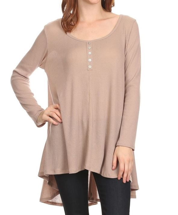 Light sweater rib long sleeve - orangeshine.com