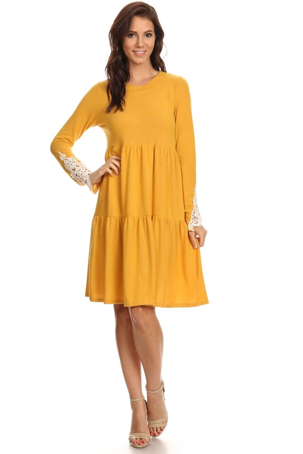 TIERED DRESS - orangeshine.com