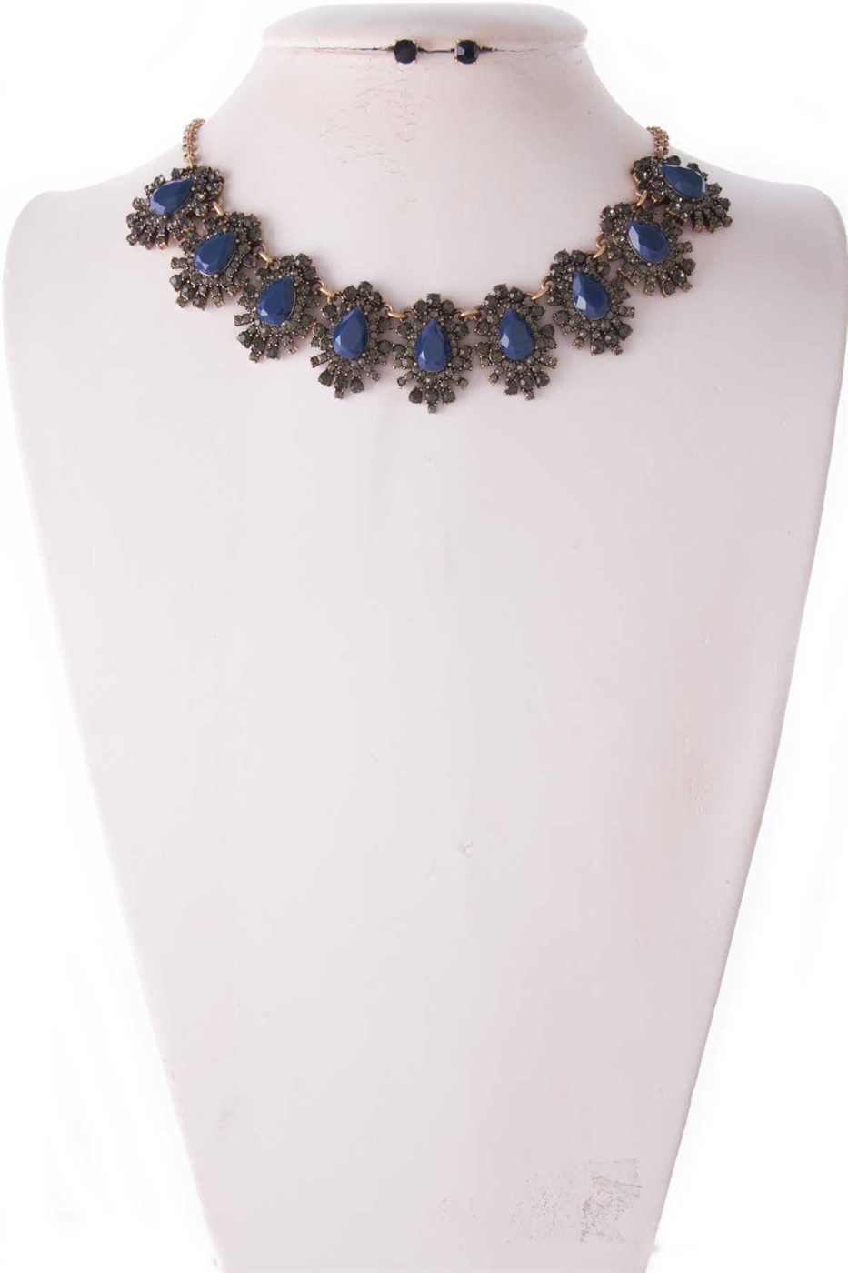 JEWELED NECKLACE SET - orangeshine.com