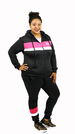 FLEECE HOODIE AND PANTS SET - orangeshine.com
