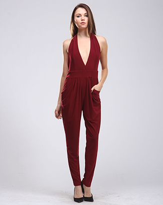 SLEEK SOPHISTICATED JUMPSUIT - orangeshine.com