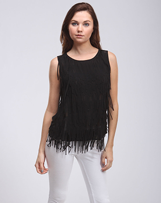 FANCY FRINGED TOP - orangeshine.com