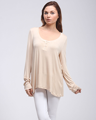 SHARKBITE BUTTON TUNIC - orangeshine.com