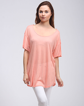 SCOOPED NECK TOP - orangeshine.com