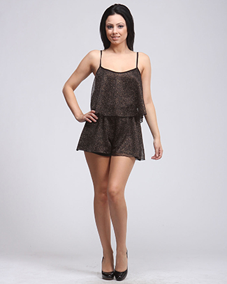 GIRLS NIGHT GLITTER ROMPER - orangeshine.com