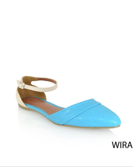 CASUAL FLATS WITH ANKLE STRAP - orangeshine.com