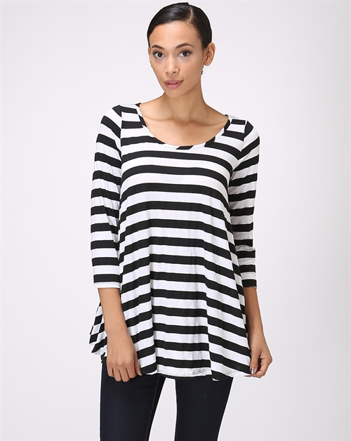 STRIPED TUNIC - orangeshine.com