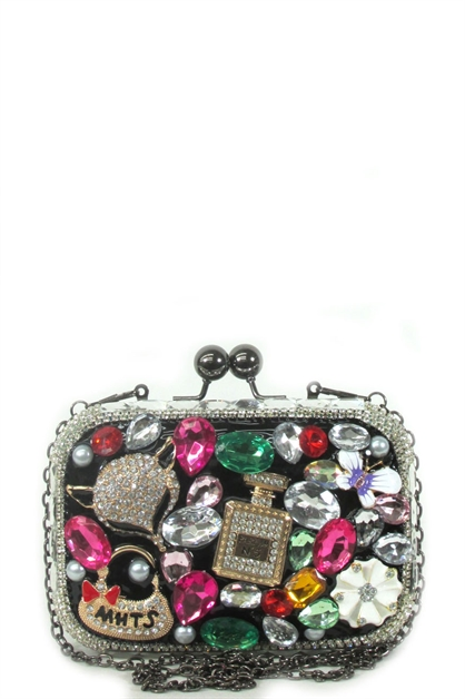 rhinestone coin purse - orangeshine.com