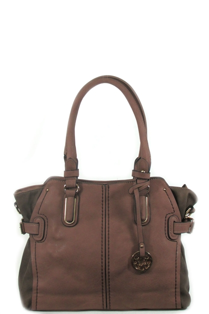 2 tones shoulder bag - orangeshine.com