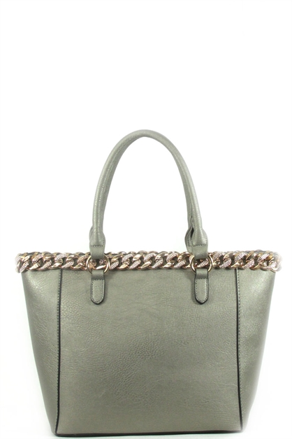 Braided chain tote - orangeshine.com