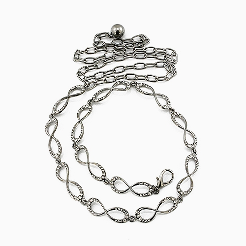 INFINITY SHAPED CHAIN BELT - orangeshine.com